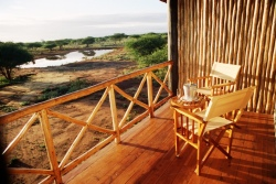 Kenya - Safari Lodge.