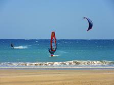 Marsa Alam - Red Sea. Windsurfer.