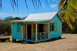 Nevis - traditional chattel house.