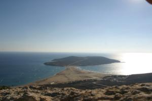 Prasonisi Beach - Southern Rhodes, Greek Islands. Windsurf, Kitesurf beach.