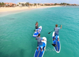 Cape Verdes SUP holiday - Santa Maria