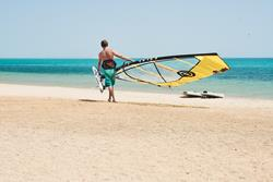 Soma Bay - Red Sea. Windsurf holidays.