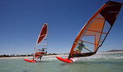 South Africa windsurf holidays. Langebaan.