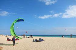 Tarifa Windsurfing and Kitesurfing at Valdevaqueros Beach