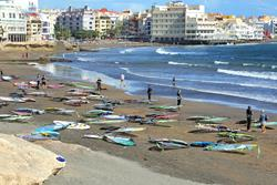 El Medano, Tenerife - Canary Islands. Beach.