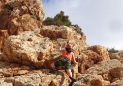 Windsurf & Climbing in Greece