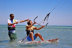 Learn to Kitesurf Holiday, Course, Camp