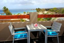 Eden Beach Hotel - Bonaire. King studio balcony.