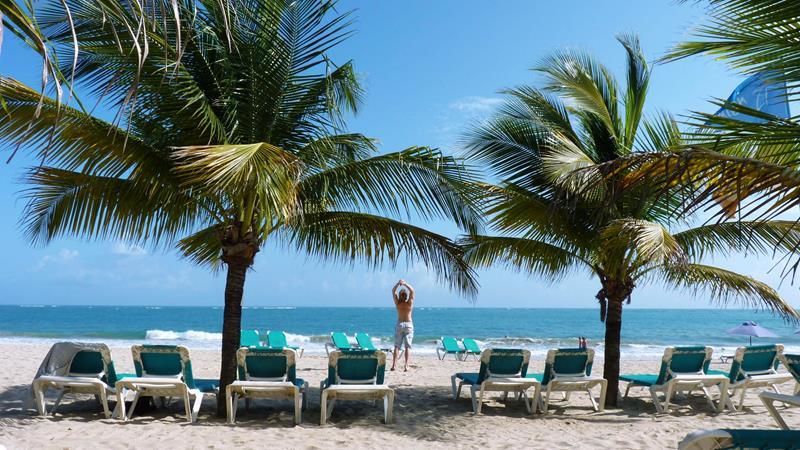 Hotel Villa Taina Cabarete Dominican Republic Windsurf Kitesurf Beach