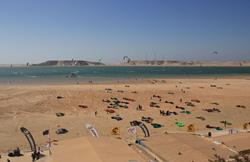 Dakhla Kitesurf and Wakeboard Camp - beach