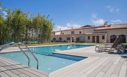 Spain - Golf de Rosas - Can Pico boutique hotel swimming pool.