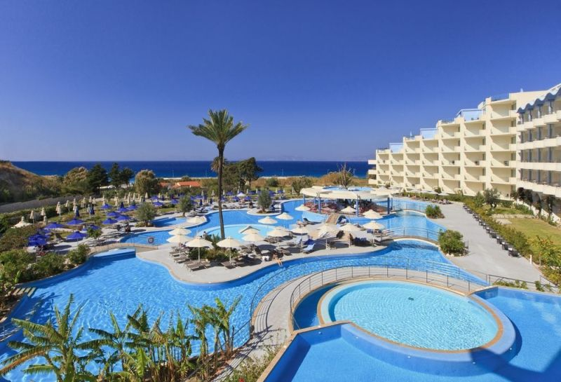 Rhodes - Greek Islands windsurf kitesurf luxury Atrium Platinum Hotel.