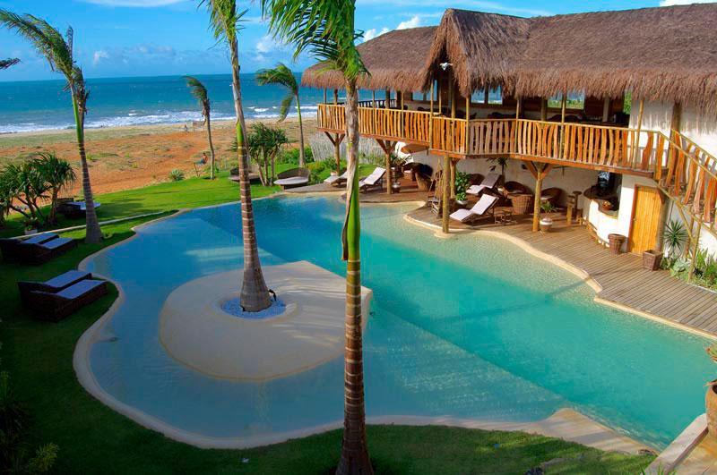 Brazil Hotel Hurricane Pool Overlooking Beach