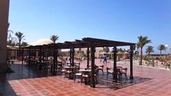 Shams Alam Beach Resort - Marsa Alam. Beach snack bar.