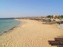 Shams Alam Beach Resort - Marsa Alam, Red Sea. Beach.