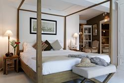 20 Degrees Sud boutique hotel, Mauritius. Charm bedroom.