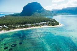 All Inclusive Creole Hotel - Le Morne, Mauritius aerial view.
