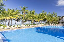 All Inclusive Creole Hotel - Le Morne, Mauritius pool view.