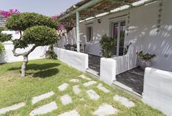Budget Self Catering Apartments - Naxos. Olga Apartment terrace.