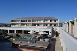 Boutique Lagoon Hotel - Langebaan, South Africa for windsurfers & kitesurfers.